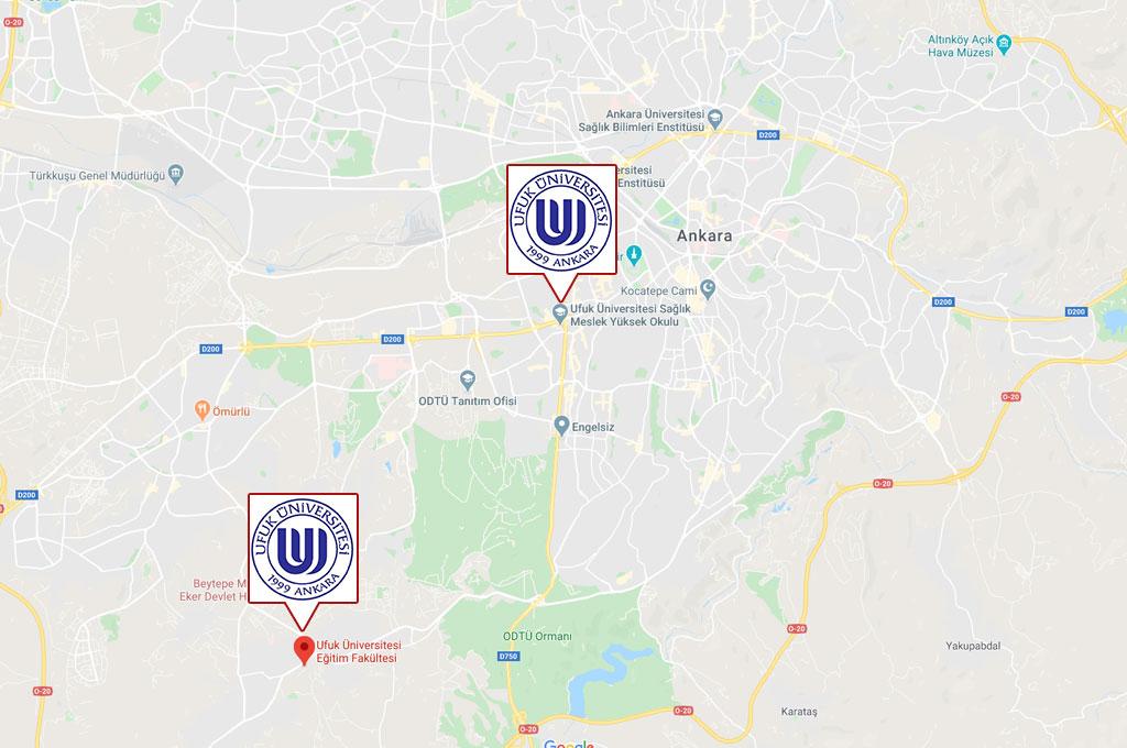 Ufuk Üniversitesi Öğrenci Yurtları