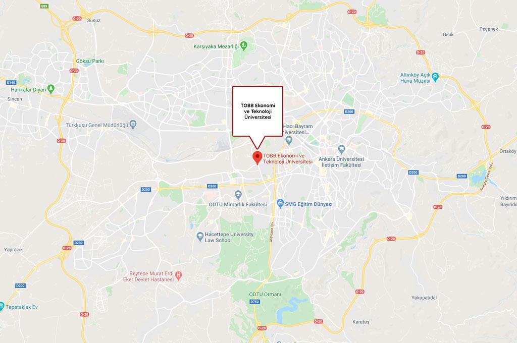 Ankara TOBB Ekonomi ve Teknoloji Üniversitesi Öğrenci Yurtları