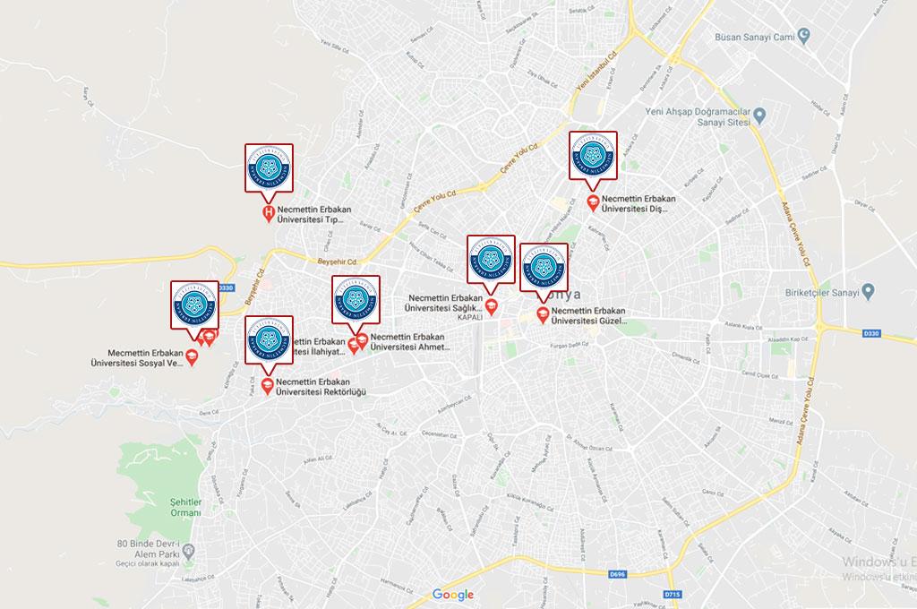 Konya Necmettin Erbakan Üniversitesi Öğrenci Yurtları