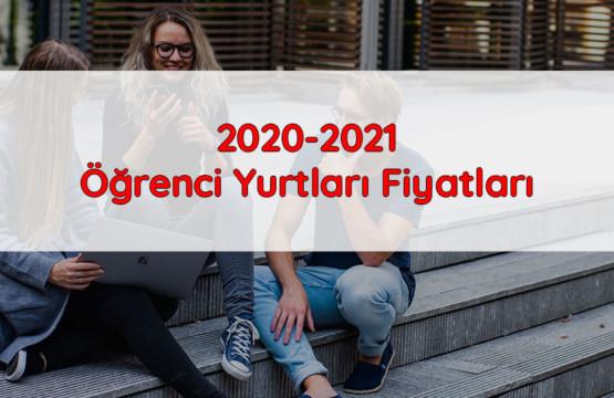 2020-2021 Öğrenci Yurtları Fiyatları
